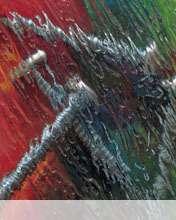 Wet glass wallpaper for Videocon V1414