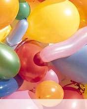 Balloons wallpaper for Videocon V1414