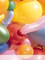 Balloons wallpaper for Samsung Galaxy Pocket Neo
