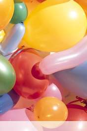 Balloons wallpaper for Maxwest ANDROID 320