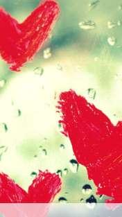 Hearts vallentine drops wallpaper for Motorola ELECTRIFY 2