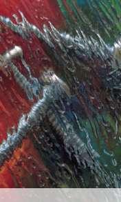Wet glass wallpaper for Videocon V1580