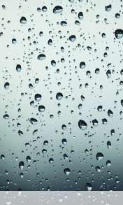 Drops on glass wallpaper for HTC Desire 500