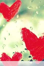Hearts vallentine drops wallpaper for Motorola MOTOSMART Flip